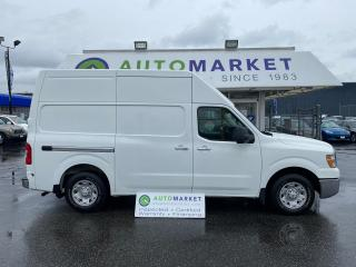 Used 2012 Nissan NV 2500 Cargo 2500 HD S V6 High Roof! VERY NICE! INSPECTED! FREE BCAA & WRNTY! for sale in Langley, BC