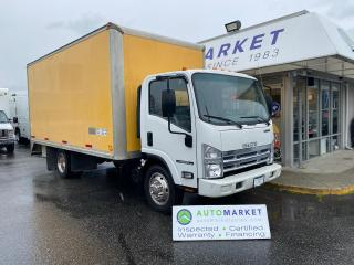 Used 2014 Isuzu NPR 17 FT CUBE ONLY 55KM'S! RELIABLE! for sale in Langley, BC