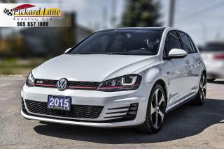 Used 2015 Volkswagen Golf GTI 5-Door Autobahn GOLF GTI! | ACCIDENT FREE! | ONTARIO VEHICLE! for sale in Bolton, ON
