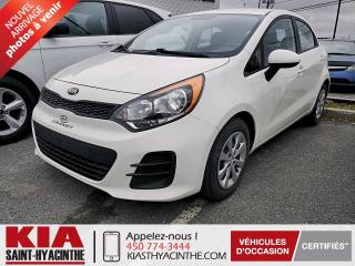 Used 2017 Kia Rio 5 LX ** GR ÉLECTRIQUE for sale in St-Hyacinthe, QC