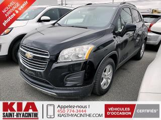 Used 2016 Chevrolet Trax LT ** CAMÉRA DE RECUL / MAGS for sale in St-Hyacinthe, QC