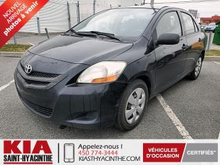 Used 2008 Toyota Yaris ** EN ATTENTE D'APPROBATION ** for sale in St-Hyacinthe, QC