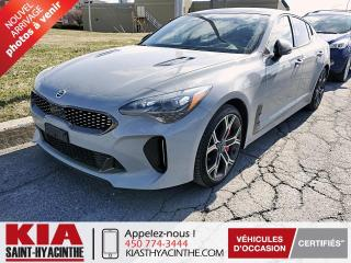 Used 2020 Kia Stinger GT Limited AWD ** NAVI / CUIR / TOIT for sale in St-Hyacinthe, QC