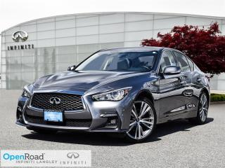 Used 2018 Infiniti Q50 3.0T AWD Signature Edition for sale in Langley, BC