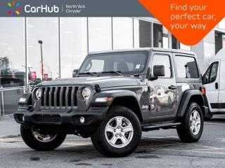 Used 2019 Jeep Wrangler Sport S for sale in Thornhill, ON