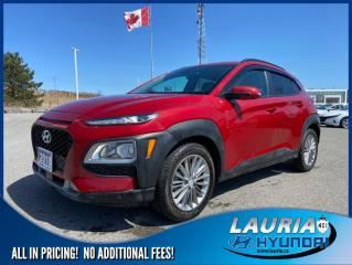 Used 2018 Hyundai KONA 2.0L AWD Luxury - Leather / Sunroof for sale in Port Hope, ON