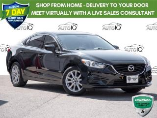 Used 2016 Mazda MAZDA6 GS Black on Black Leather | Sunroof | Navigation for sale in Welland, ON
