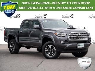 Used 2017 Toyota Tacoma TRD Sport SPORT | MANUAL TRANS | MOONROOF for sale in Welland, ON