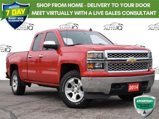 Used 2014 Chevrolet Silverado 1500 1LT Resale Red for sale in Tillsonburg, ON