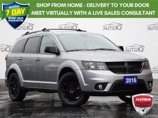 Used 2016 Dodge Journey SXT/Limited BLACKTOP | LIMITED | FWD | REAR SEAT VIDEO | REAR A/C | REMOTE START | for sale in Waterloo, ON