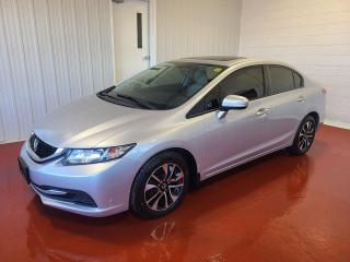 Used 2015 Honda Civic EX for sale in Pembroke, ON
