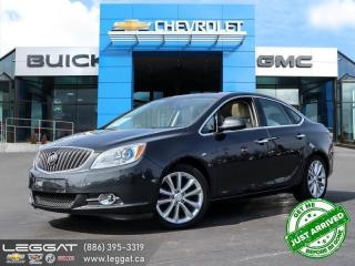Used 2015 Buick Verano Leather LEATHER | SUNROOF | NAV | for sale in Burlington, ON