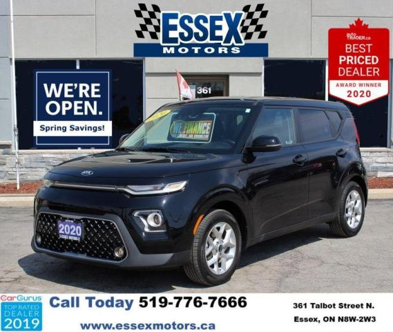2020 Kia Soul EX*Heated seats Bluetooth*CarPlay*Backup Cam
