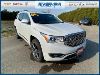 Used 2017 GMC Acadia Denali New Tires | 6 Passenger Seating | Driver Alert Package II  | Bose Speakers | Heated Steering Wheel for sale in Wallaceburg, ON