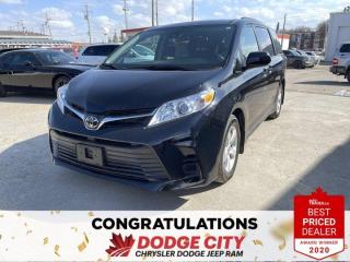 Used 2020 Toyota Sienna LE for sale in Saskatoon, SK