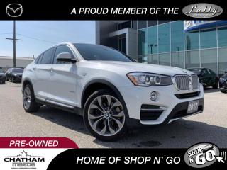 Used 2017 BMW X4 xDrive28i for sale in Chatham, ON