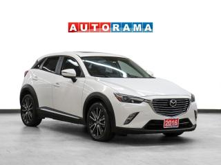 Used 2016 Mazda CX-3 GT AWD Navigation Leather Sunroof Backup Cam for sale in Toronto, ON