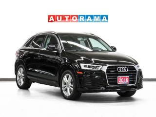 Used 2017 Audi Q3 Technik Quattro Nav Leather PanoRoof Backup Camera for sale in Toronto, ON