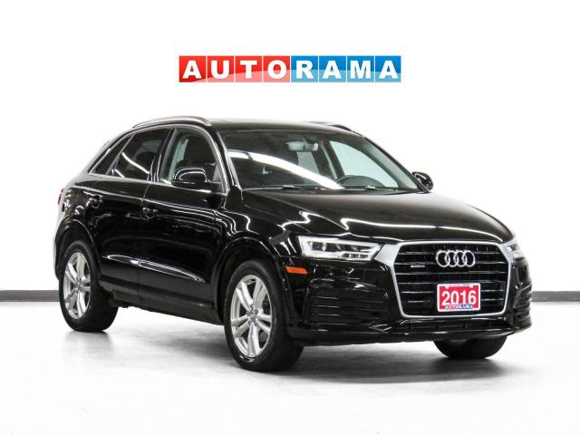 2017 Audi Q3 Technik Quattro Nav Leather PanoRoof Backup Camera