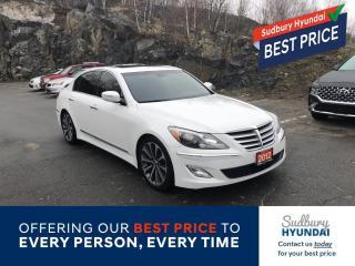 Used 2012 Hyundai Genesis 5.0 R-Spec for sale in Sudbury, ON