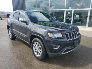 Used 2015 Jeep Grand Cherokee Limited Adaptive Cruise, Heated/Vented Seats, NAV! for sale in Ingersoll, ON