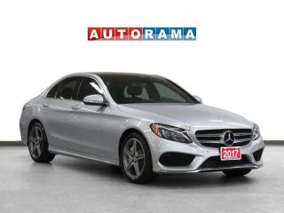 Used 2017 Mercedes-Benz C300 4Matic Navigation Leather Sunroof Backup Cam for sale in Toronto, ON