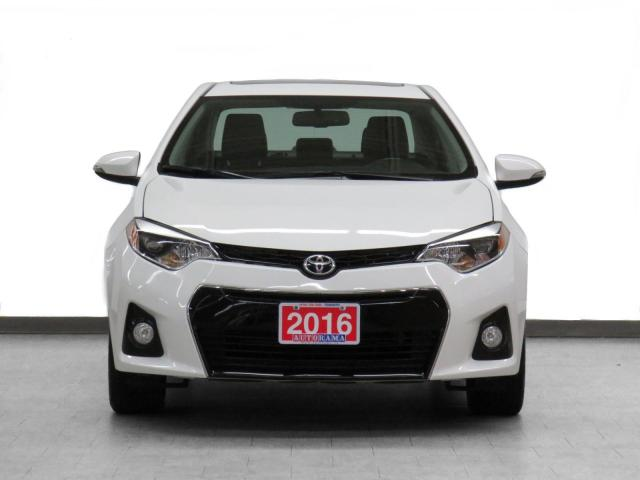 2016 Toyota Corolla S Navigation Leather Sunroof Backup Camera