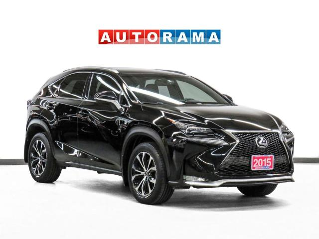 2015 Lexus Nx200t F Sport F-Sport AWD Nav Red Leather Sunroof Backup Cam