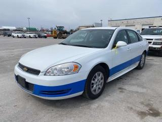 Used 2011 Chevrolet Impala police for sale in Innisfil, ON