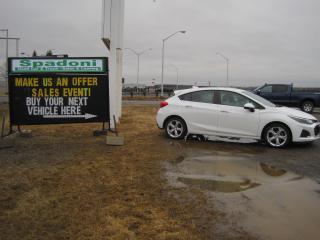 Used 2019 Chevrolet Cruze Premier for sale in Thunder Bay, ON