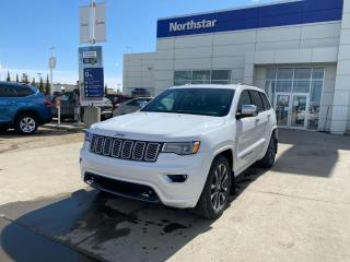 Used 2017 Jeep Grand Cherokee OVERLAND V6/PANOROOF/LEATHER/NAV/HEATEDSEATS/BACKUPCAM for sale in Edmonton, AB