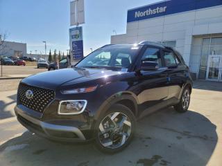 New 2021 Hyundai Venue Ultimate: BLUELINK/SUNROOF/NAV/APPLE CARPLAY/PROXY KEY for sale in Edmonton, AB