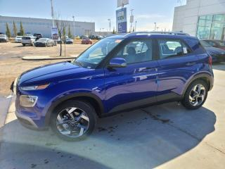 New 2021 Hyundai Venue ULTIMATE:BLUELINK/APPLE CARPLAY/SUNROOF/NAVI/HEATED SEATS/ for sale in Edmonton, AB