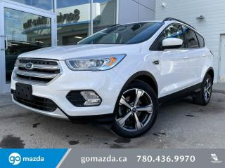 Used 2017 Ford Escape SE - LEATHER, PANO ROOF, HEATED SEATS, NAV, BACK UP! for sale in Edmonton, AB