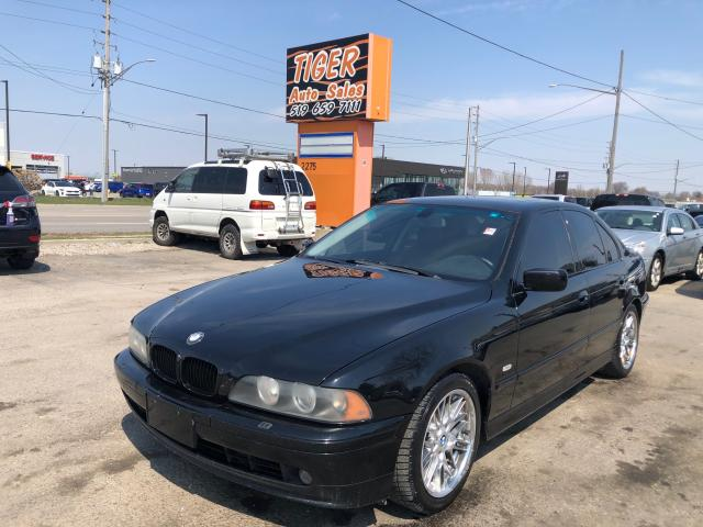 2003 BMW 5 Series 540iA*VERY CLEAN*LEATHER*SUNROOF*V8*AS IS SPECIAL