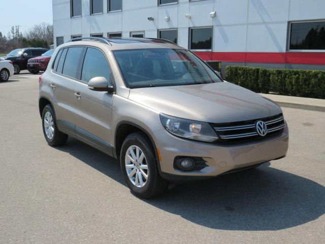 2016 Volkswagen Tiguan S Comfortline with Backup Camera