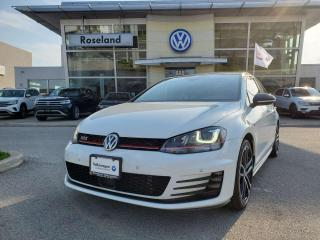 Used 2017 Volkswagen Golf GTI Performance 4dr FWD Hatchback for sale in Burlington, ON