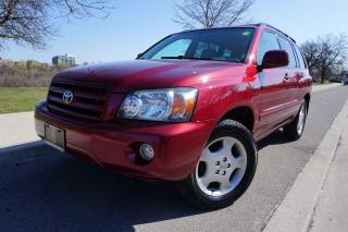 Used 2005 Toyota Highlander LIMITED / 7 PASSENGER / NO ACCIDENTS / IMMACULATE for sale in Etobicoke, ON