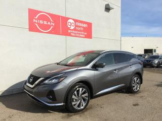 New 2021 Nissan Murano AWD/MEMORY SEATS/BOSE AUDIO/HEATED REAR SEATS for sale in Edmonton, AB