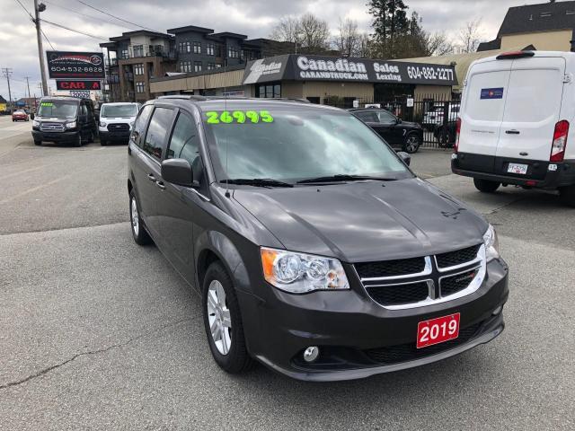 2019 Dodge Grand Caravan Crew Plus 3.6L V6 283HP 6 SPD AUTO