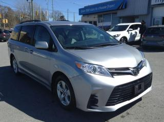 Used 2018 Toyota Sienna LE 8-Passenger PWR DOORS, PWR HEATED SEAT, BACKUP CAM, ALLOYS!! for sale in Kingston, ON