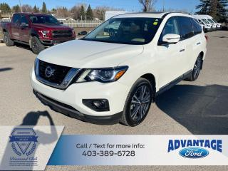 Used 2018 Nissan Pathfinder Platinum for sale in Calgary, AB
