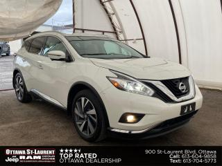 Used 2017 Nissan Murano Platinum NEW BRAKES, PANORAMIC SUNROOF, NAVIGATION, 360 VIEW CAMERA for sale in Ottawa, ON