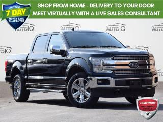 Used 2019 Ford F-150 Lariat CREW CAB | LARIAT | MOONROOF| 2.7 L | 5.5 BOX | TECH PKG | TAILGATE STEP for sale in Waterloo, ON