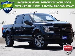 Used 2019 Ford F-150 Lariat CREW CAB | LARIAT | SPORT | 2.7 L | 5.5 BOX | TAILGATE STEP| MOONROOF| LEATHER | NAV for sale in Waterloo, ON
