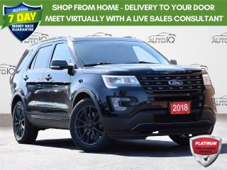 Used 2017 Ford Explorer XLT| AWD | LEATHER | MOONROOF | NAVIGATION | BLIS| XLT APPEARANCE PKG | HANDS FREE LIFTGATE for sale in Waterloo, ON