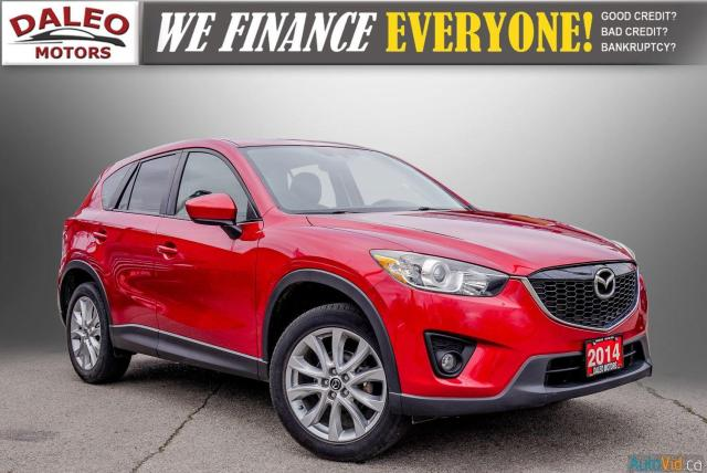 2014 Mazda CX-5 GT / BACK UP CAM / LEATHER / HEATED SEATS /