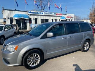 Used 2013 Dodge Grand Caravan R/T-Accident Free-Navigation for sale in Stoney Creek, ON