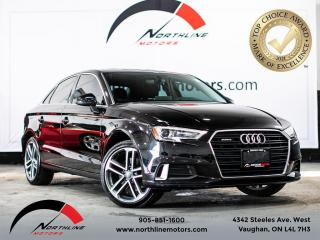 Used 2018 Audi A3 Progressiv/Navigation/Camera/Sunroof/Heated Leathe for sale in Vaughan, ON