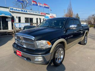 Used 2011 RAM 1500 Laramie-HEMI-4X4-ACCIDENT FREE for sale in Stoney Creek, ON